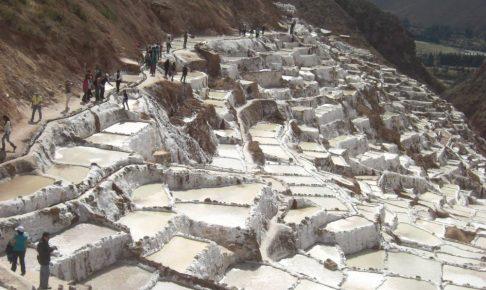 ペルー、クスコ、観光スポット、聖なる谷、Salineras、Maras