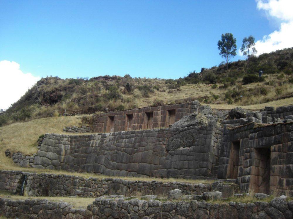 ペルー、クスコ、観光スポット、遺跡、Tambomachay