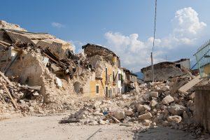 ペルー、アレキーパ、地震、落石