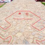 ペルー・クスコ・チンチェーロの観光スポット、チンチェーロ遺跡と教会の目の前のアルマス広場で地上絵を探せ!