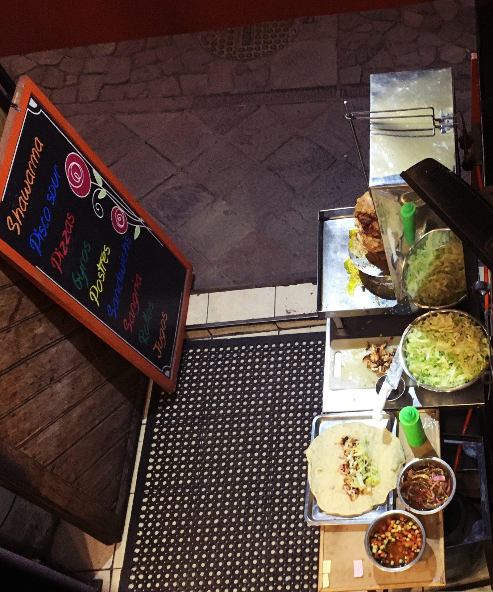 ペルー, クスコ, レストラン, Cusco, ピザ, Shawarma