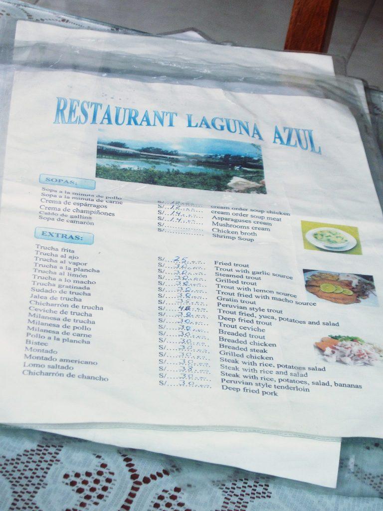ペルー、クスコ、レストラン、ペルー料理、Trucha