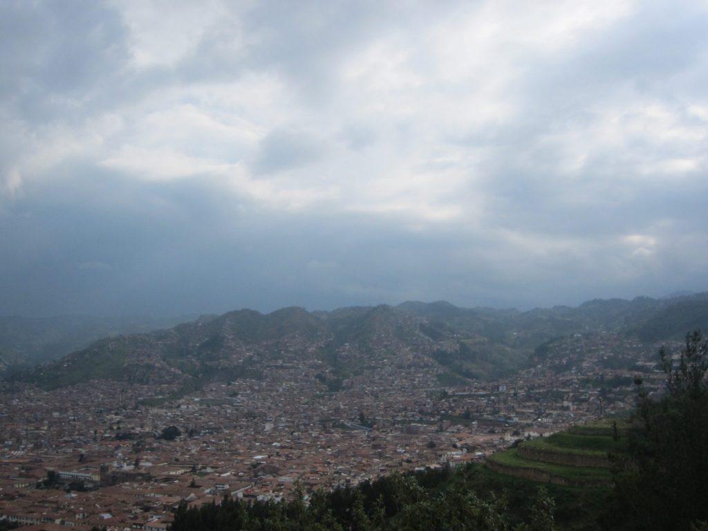 ペルー、クスコ、観光スポット、展望台、Cristo Blanco