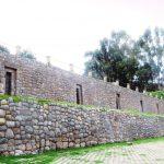 ペルー・クスコの観光スポット San Cristóbal 教会の Qolqanpata コルカンパタの宮殿跡地の展望台の景色は絶景!