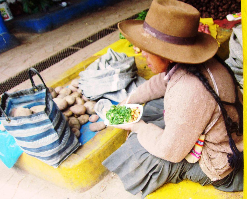 ペルー, アンデス, クスコ, ペルー料理, 野菜, 菜の花