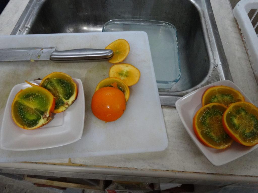 ペルー、料理、おいしい、ジャングル、タカチョ、ココナ