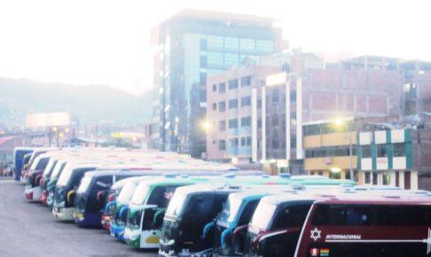 ペルー, クスコ, バス, ターミナル