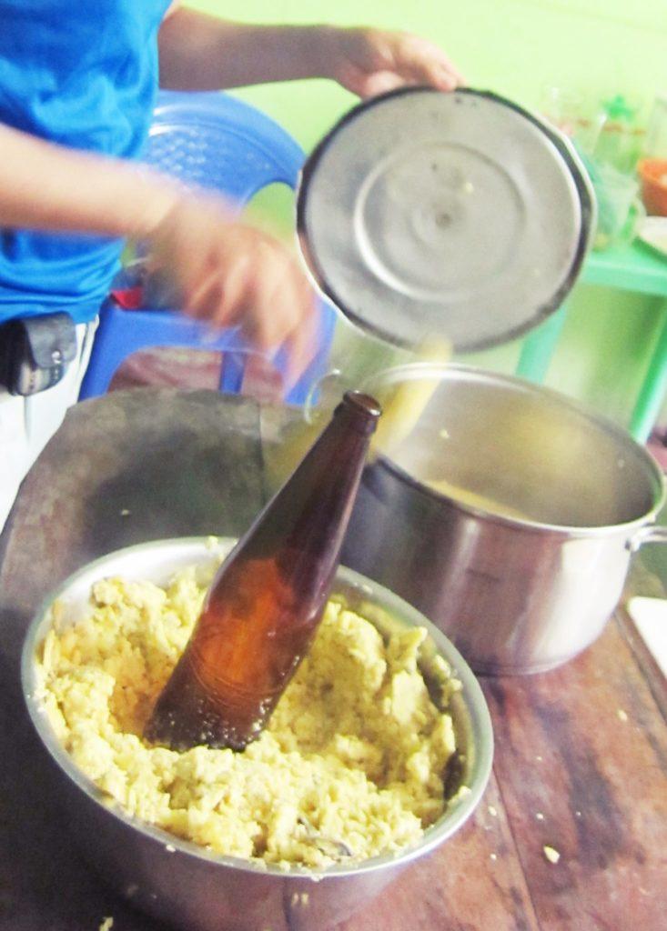 ペルー, ジャングル, バナナ, レシピ, Tacacho