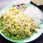 Madre de Dios 県のバナナのペルー料理 Tacacho のレシピはもっと簡単でヘルシー
