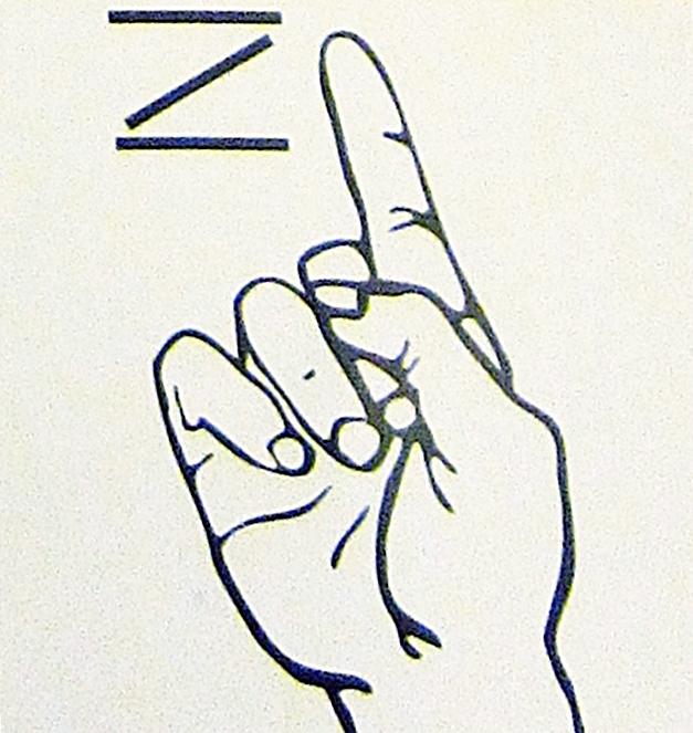 ペルー, 言語, 手話, Z
