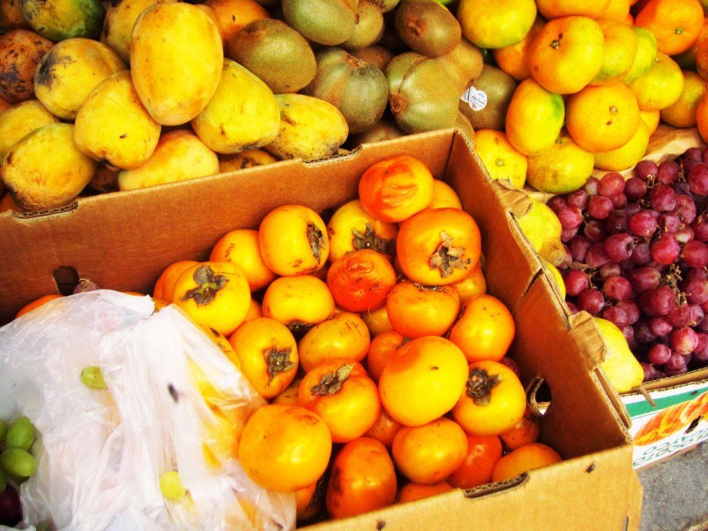 ペルー, 果物, フルーツ, 柿, 健康, 栄養, 効能, 効果