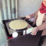 ペルー・クスコで、Crepes And Coffee というクレープ屋さんを見つけた!久しぶりに食べたクレープはやっぱりおいしい!