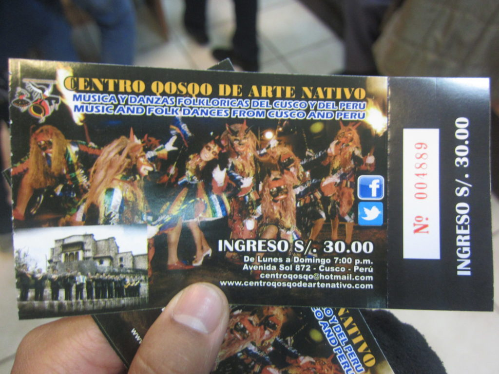 ペルー, クスコ, 観光スポット, ダンス