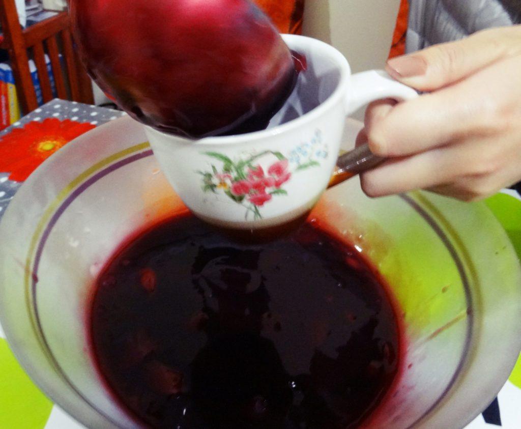 ペルー, クスコ, ペルー料理, デザート, レシピ, Mazamorra, 紫トウモロコシ