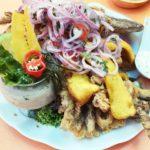 クスコ市内人気セビーチェ・レストラン Los Cangrejos de Piura