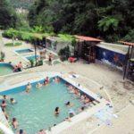 マチュピチュ村アグアス・カリエンテス Aguas Calientes の温泉は、ちょっとぬるい!お昼の暖かいうちに入るのが、おすすめ!