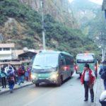 マチュピチュ村アグアス・カリエンテスとマチュピチュ遺跡間のバス料金表!現地でも買うことができるが、行列に注意!