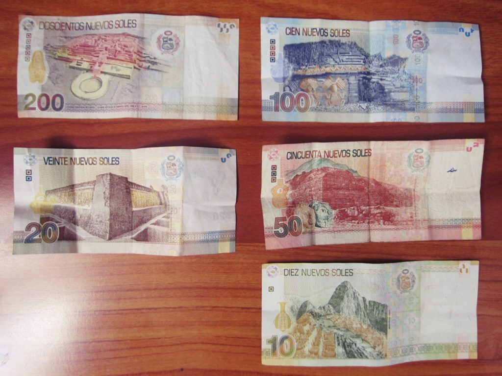 ペルー, 通貨, お金, ソル, お札