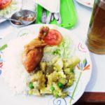 ペルー・クスコの地元のおいしいレストランで食べた牛の足ペルー料理!スネじゃなくて足首?コラーゲンたっぷり!Revuelto de Patita
