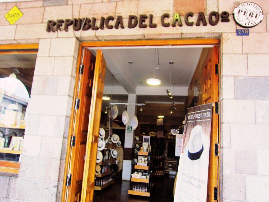 ペルー, クスコ, カカオ, お土産, チョコレート