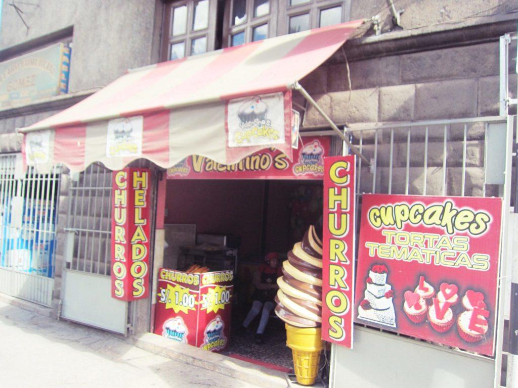 ペルー, クスコ, カフェ, デザート, ケーキ, アイスクリーム