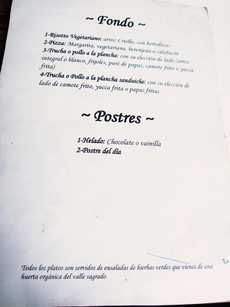 ペルー, クスコ, おいしい, レストラン, ピサック, pisac