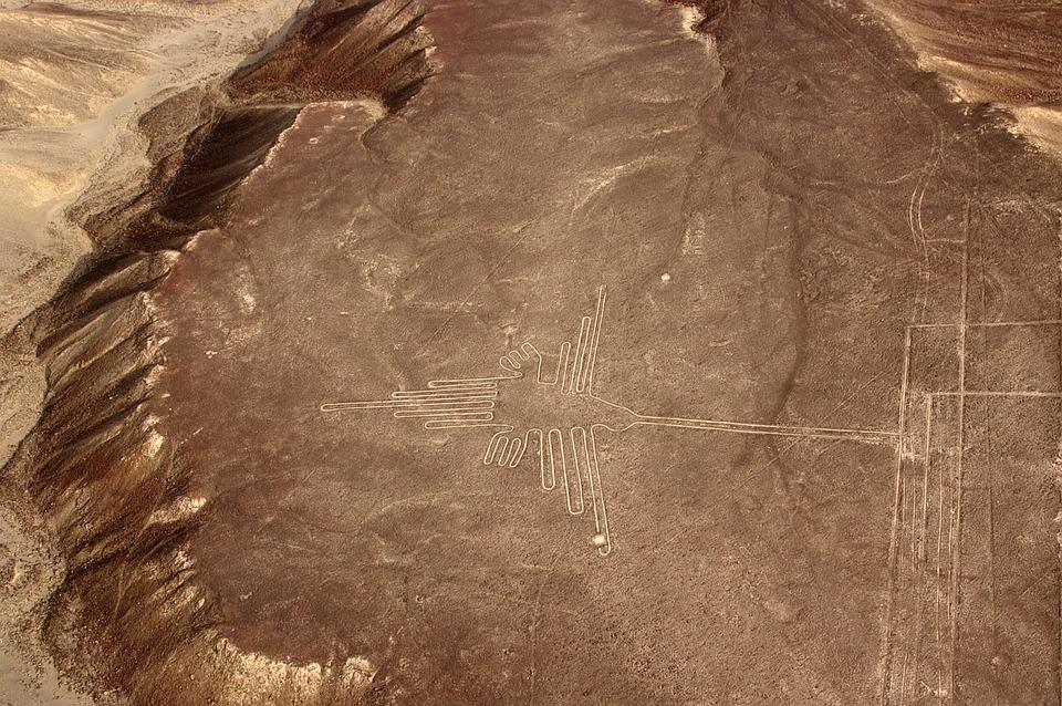 ペルー, 観光, ナスカ, 地上絵, 世界遺産