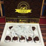 ペルー・クスコのスーパーのお土産おすすめチョコレートInda Peru Chocotejas Cusco
