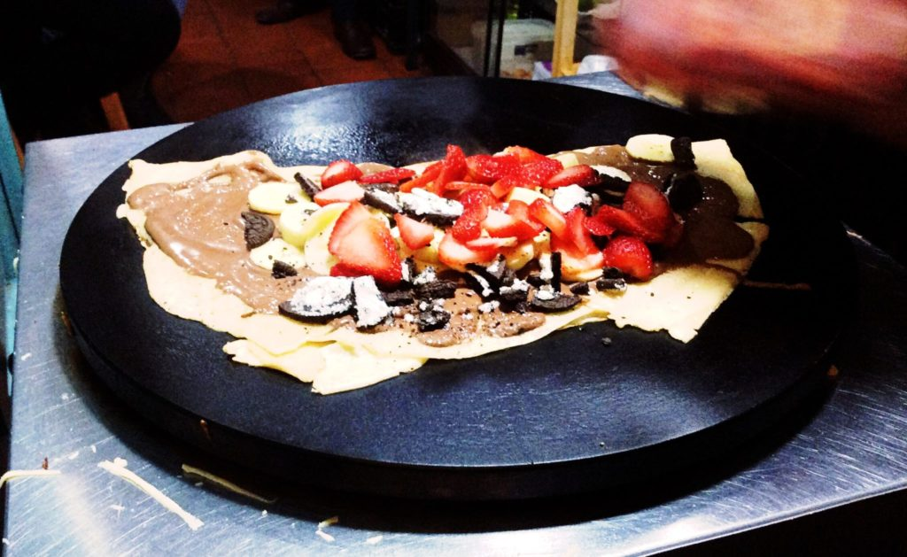 ペルー, クスコ, おいしい, デザート, クレープ