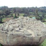ペルー観光 Abancay アバンカイの1ソル記念硬貨にもなっている遺跡 Piedra de Saywite サイウイテの石は設計図だった?