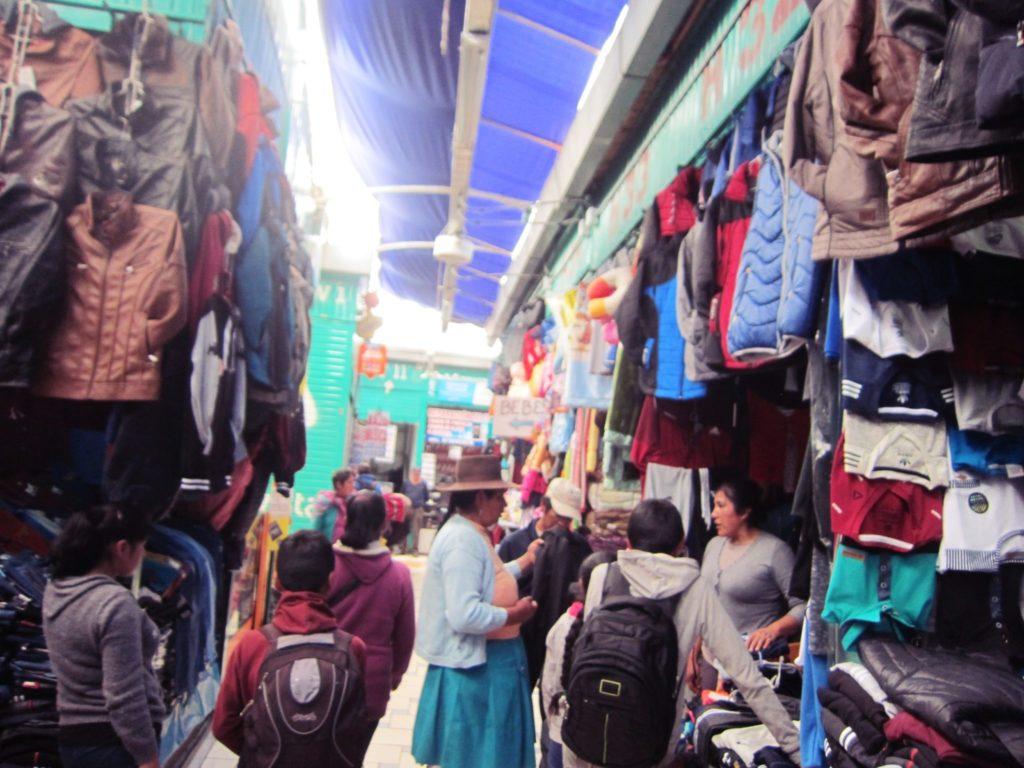 ペルー, クスコ, 市場, Paraiso, 携帯電話