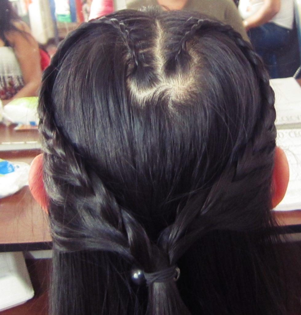 ペルー, 美容院, 学校, 結び方