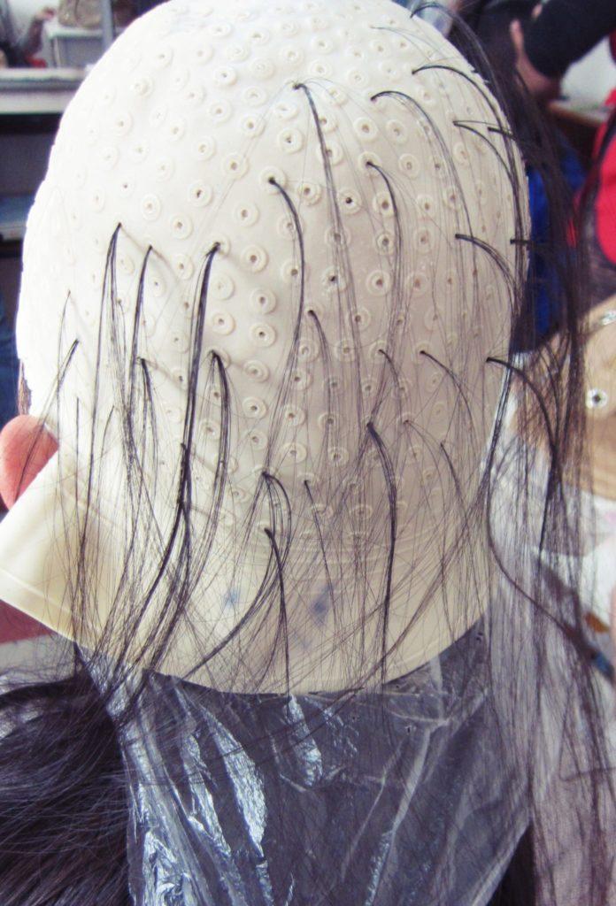 ペルー, 美容院, 学校, 髪染め