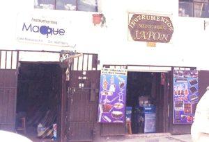 ペルー, クスコ, 楽器, 楽器屋