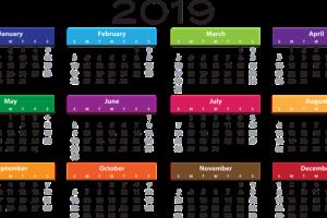 ペルー, カレンダー, 2019