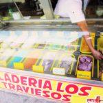 ペルー・クスコ中心地のおすすめアイスクリーム・カフェ Los Traviesos!コリカンチャ神殿跡地前