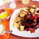 ペルー・クスコ市内の観光客に人気のレストラン Don Bigote のレッド・チキン・ウィングスは、おいしいのでおすすめ!オーナー・シェフが!