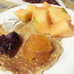 南米ペルーで、最近はまっているスーパーフードたっぷり栄養満点のオリジナル朝食レシピ!スーパーホットケーキ