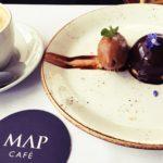 ペルー・クスコ市がおすすめする高級、芸術のペルー料理レストラン Map Café!美術館の知的、美的感性に包まれ、さらに、開放感満点