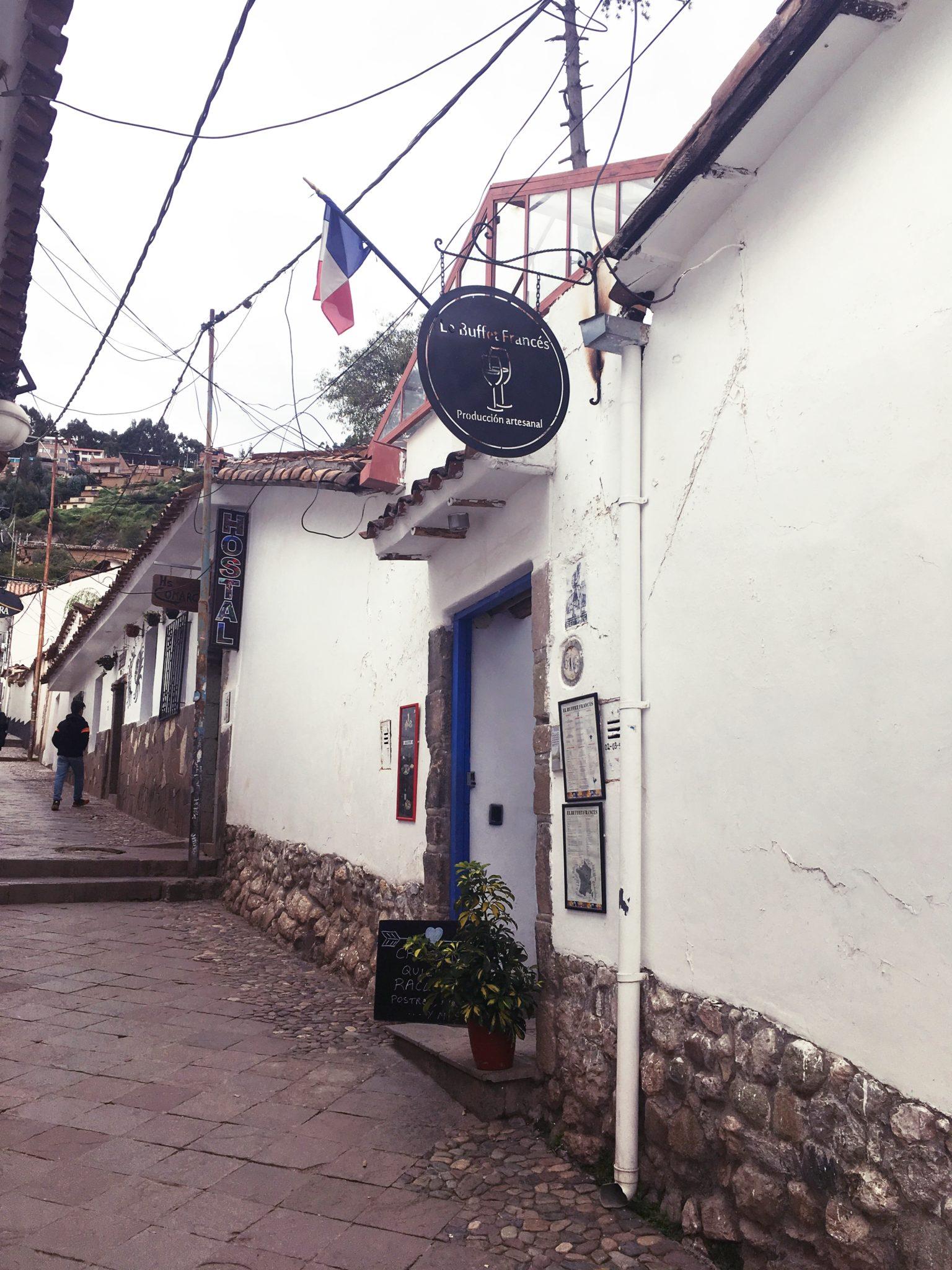ペルー, クスコ, フレンチ,おすすめ, レストラン, San Blas, サン・ブラス