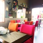 ペルー・クスコ市内のホテルにあるおしゃれなカフェ Atiq アティック!店員さんとメニューに突っ込みたかった