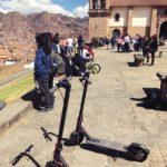 ペルー・クスコ観光。電動キックボードで、ツーリング・ツアー!クスコ市内、サクサイウアマン、クリスト・ブランコが一望できる絶景ツアー