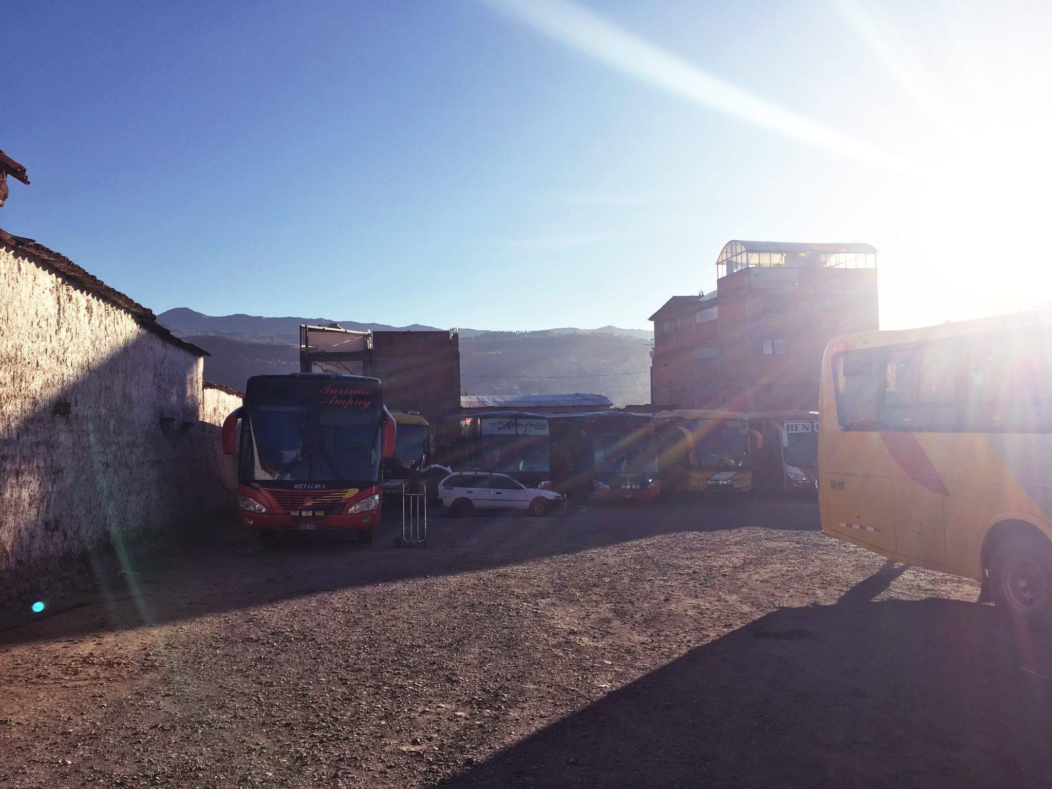 ペルー, 観光, Quillabamba, キヤバンバ, バス