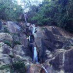 ペルー観光 Quillabamba キヤバンバの観光スポット Siete Tinajas 滝