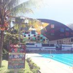 ペルー観光 Quillabamba キヤバンバのプール!中央公園すぐ近くの市民プール