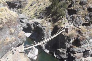 Queshuachaca, Q'eswachaka, ペルー, クスコ, インカ, 最後, 橋