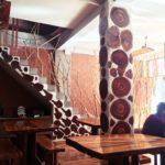 ペルー、クスコ Santa Teresa サンタ・テレーサのカフェ・レストラン Candela