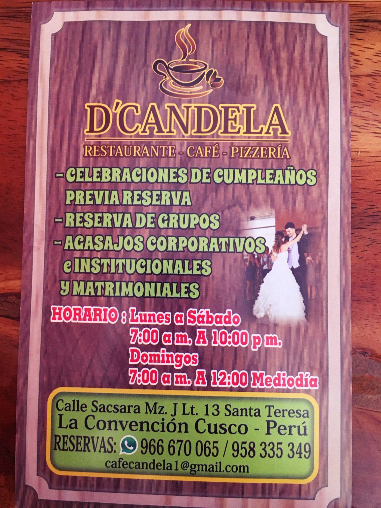 ペルー, クスコ, Santa Teresa, サンタ・テレーサ, カフェ, レストラン