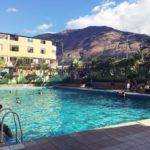 ペルー観光 Quillabamba キヤバンバのセィエテ・デ・フーニオ・プール Piscina de Parque Recreacional 7 de Junio