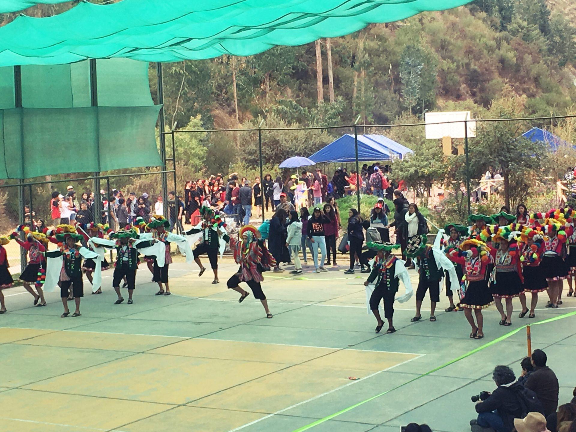 ペルー, クスコ, 学校, ダンス